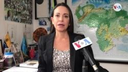 María Corina Machado sobre declaraciones de Mike Pompeo
