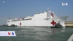Brodovi-bolnice uplovili u New York i Los Angeles