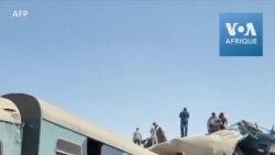 Collision de 2 trains de voyageurs en Égypte