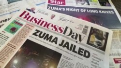 'About time': S. Africans React As Zuma Goes to Jail