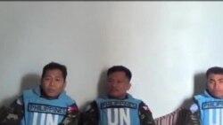 聯合國預計被扣留的維和人質星期六獲釋