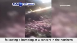 VOA60 World - The suspect accused of bombing a concert in Manchester is identified as, 22 year old, Salman Abedi