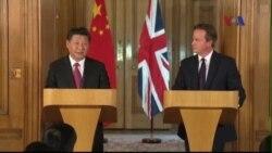 Trung Quốc và Anh ký những hợp đồng kinh tế hàng tỉ đôla