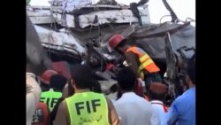 巴基斯坦客車相撞意外至少27人死