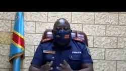 Commissaire div. adj. Kasongo akebisi bato bakota te malako ya kopekisa COVID
