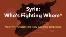 Explainer: Syria Who's Who