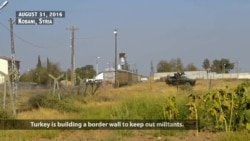 Syrians Protest Turkish Plans for Building Border Wall