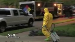 Новый случай заражения лихорадкой Эбола в США встревожил весь мир