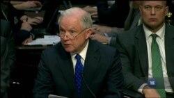 Міністр юстиції США Сешнс свідчив щодо зв`язків з росіянами під час виборів. Відео