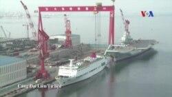 Trung Quốc xây tàu sân bay thứ nhì giữa tranh chấp Biển Đông