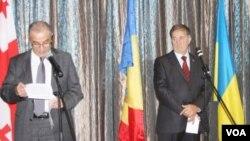 Gürcüstan, Moldova və Ukrayna ilə assosiasiya sazişləri qeyd edilir
