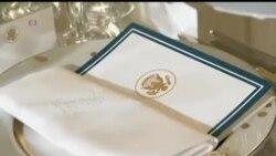 2014-02-11 美國之音視頻新聞: 白宮介紹款待奧朗德的國宴菜式