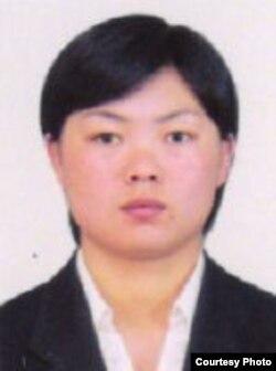 2013 하계 유니버시아드 대회 공식 웹사이트에 게재된 북한 번영미 선수 사진.