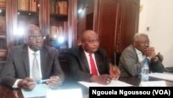 Des leaders de IDC réunis à Brazzaville, 20 septembre 2016 VOA/Ngouela Ngoussou