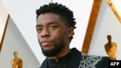 Chadwick Boseman, acteur principal ya film Balck Panther akufi.