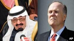 تام دانیلن مشاور امنیت ملی ایالات متحده که قرار است روز دوشنبه به عربستان سعودی سفر نموده و با ملک عبدالله پادشاه سعودی ملاقات نماید.