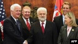 Premijer Srbije Mirko Cvetković sa delegacijom Donjeg doma američkog Kongresa