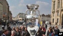 Trophee de l'Euro 2016, 1er avril 2016