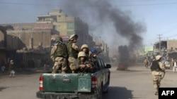 Pripadnici avganistanske vojske