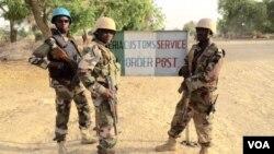 Des soldats nigeriens à Diffa