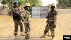 Des soldats nigériens à Diffa