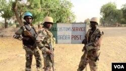尼日爾士兵