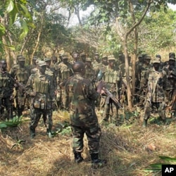 Colonel B briefs the 31st Ugandan Battalion (file photo)