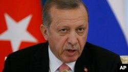 Shugaban Turkiya Reccep Tayyip Erdogan