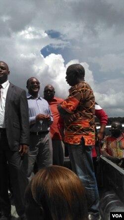 Kade ekhona loMnu. Tsvangirai.