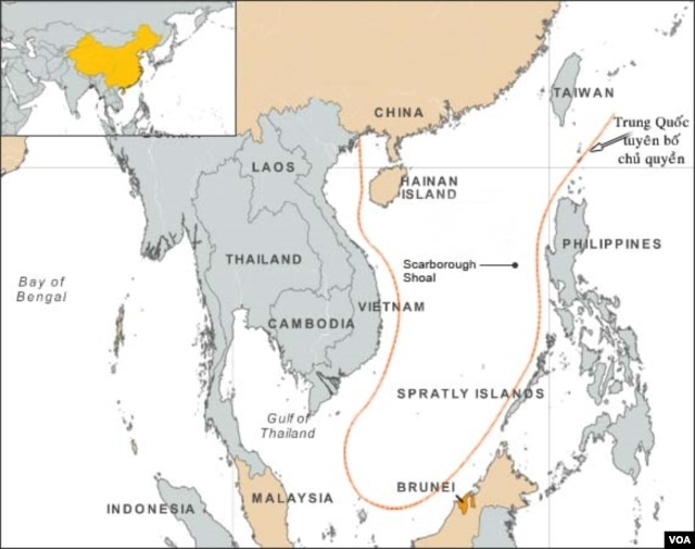 Trong vài năm gần đây, Biển Đông đã trở thành một điểm nóng.