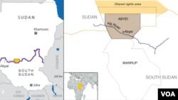 A group loyal to South Sudan says it will hold a referendum on the future of Abyei.