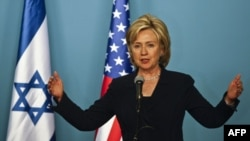 Ngoại trưởng Clinton nói rằng những công trình xây dựng mới tại Đông Jerusalem hoặc khu bờ Tây tác hại đến các cuộc hòa đàm giữa Israel và Palestine