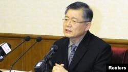 加拿大韩光长老教会牧师林铉洙(Hyeon Soo Lim)。