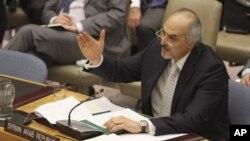 Jakaden kasar Siriya a Majalisar dinkin duniyas Bashar Ja'afari