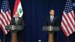 اوباما و المالکی متعهد به همکاری پس از خروج سربازان آمریکایی از عراق شدند