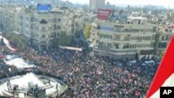 شام پر عالمی دباؤ میں اضافہ