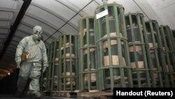 Một cơ sở xử lý chất phóng xạ của Nga ở vùng Urals