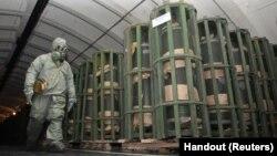 تخریب کامل سلاح های کیمیایی روسیه با استقبال سازمان منع تسلیحات کیمیایی روبرو گردید.