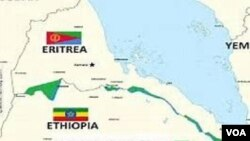 Ethiopia - Eritrea Borders