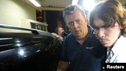 Ray Whelan (derecha) es uno de los sospechosos de pertenecer a un grupo que revendió entradas en Brasil.