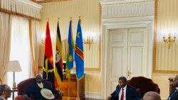 Paul Kagame et Yuweri Museveni se rencontrent
