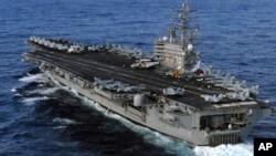 美軍的里根號核動力航母