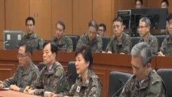 朴槿惠相信韓軍做好回擊北韓挑釁準備