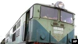 柬埔寨火車