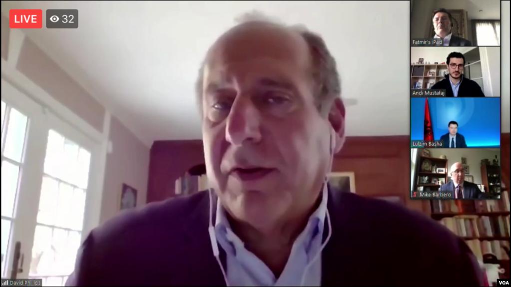 Studiues shqiptarë e amerikanë dhe politikanë të opozitës diskutojnë për krizën shumëplanëshe në Shqipëri