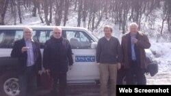 ATƏT-in Minsk qrupunun həmsədrləri (Foto Ceyms Uorlikin Twitter səhifəsindən götürülüb)