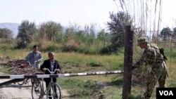 তাজিকিস্তান-আফগানিস্তান সীমান্ত, ১৩ই অক্টোবর, ২০২০, ফাইল ছবি, ২০২০- ভোয়া