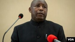 Perezida w'Uburundi Evariste Ndayishimiye