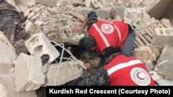 Afrin civilians under attack