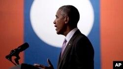 باراک اوباما در آخرین سفر آسیایی خود در دوران ریاست جمهوری به لائوس سفر کرده است.